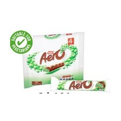Aero Mint Bubbly Chocolate Bar 4 Pack 108g