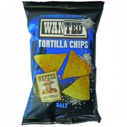 TCH803 WANTED TORTILLA CHIPS SAL 150 G