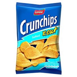 TCH808 LORENZ CRUNCHIPS X-CUT SALTED 85G 85 G