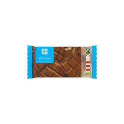 TCH790 CO OP FAIRTRADE MILK CHOCOLATE 135G