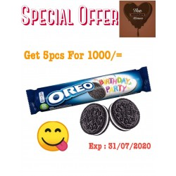 Oreo birthday Party 154 g X 5 Packs