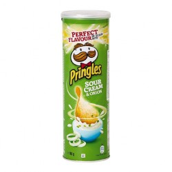 TCH863 Pringles Sour Cream & Onion 165G