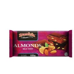 TCH885 Danish Almond Bar 100g