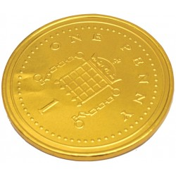 TCH938 Coin Chocolate