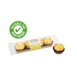 Ferrero Rocher 4 Pieces Chocolate Box 100g