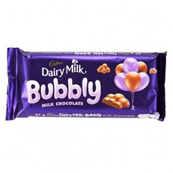 TCH1026 Cadbury Dairy Milk Bubbly Milk Chocolate 87G