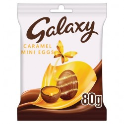TCH1035 Galaxy Caramel Mini Eggs 80G
