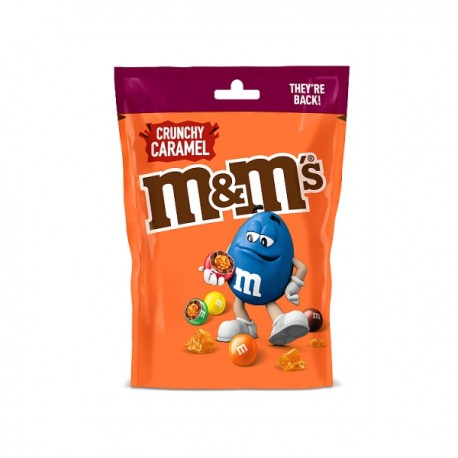 TCH1068 M&M Crunchy Caramel Treat Bag 80G