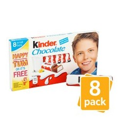 Kinder Chocolate 8 Pack 100G