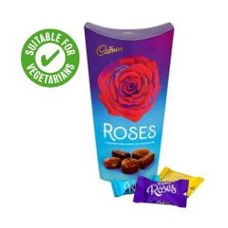 TCH205 Cadburys Roses Carton 328G With Wrap