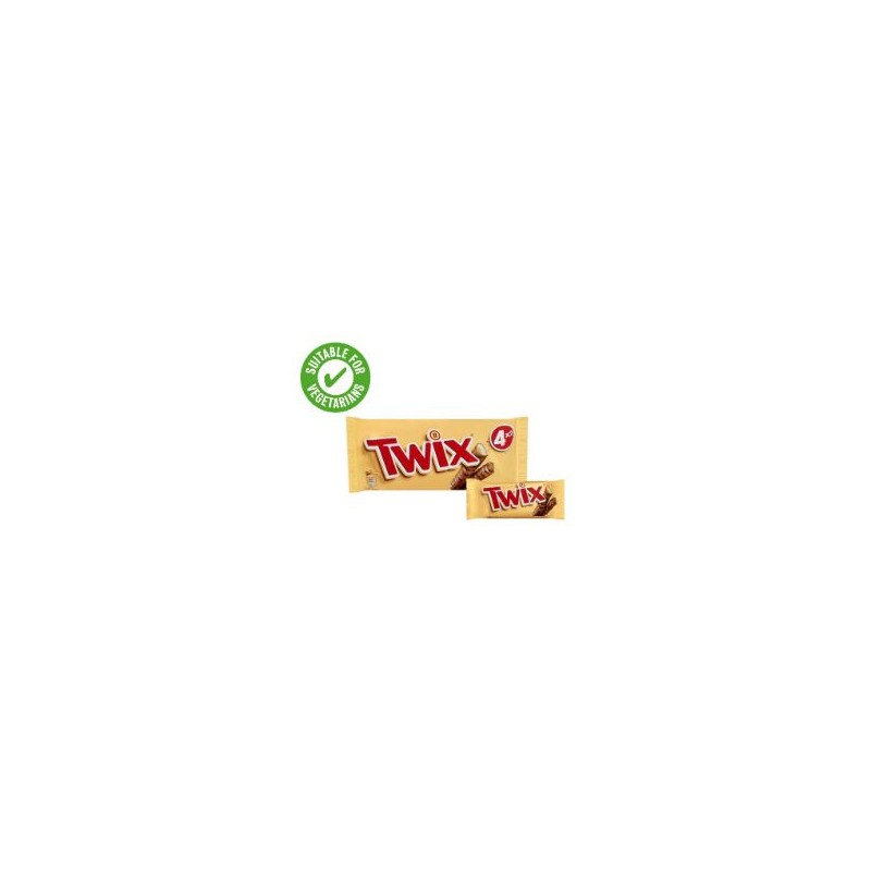 TCH206 Twix 4 Pack (Twin) 160G - The Chocolate House