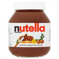 TCh200 Nutella Hazelnut Chocolate Spread 750g