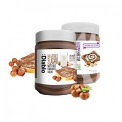 TCH247 No added sugar Duo Hazelnut & White Choco Spread 350g