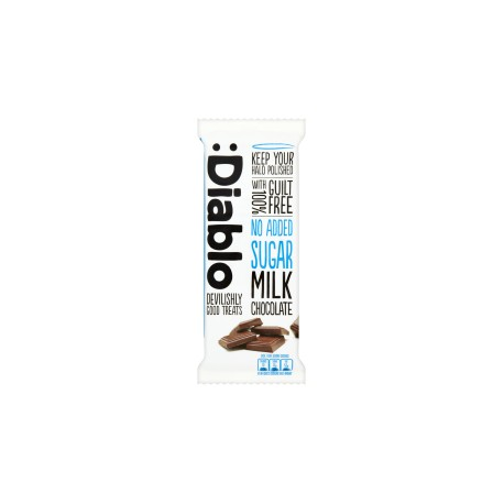 TCH249 No added sugar Milk Chocolate Bar 85g