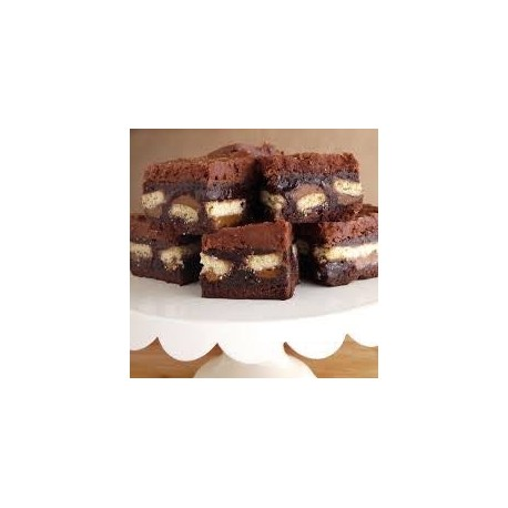 Twix Brownie 20 Slices