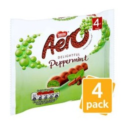 TCH294 Nestle Aero Peppermint 4 Pack 108G