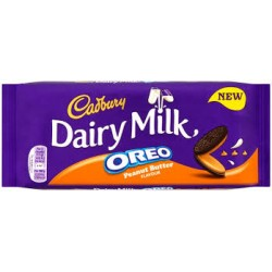 TCH362 Cadbury Dairy Milk Peanut Butter Chocolate 120G