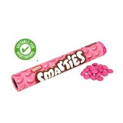 TCH375 SMARTIES GIANT TUBE PINK PS 150 G