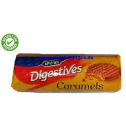 MCVITIES CARAMEL DIGESTIVES 267g