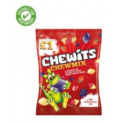 CHEWITS CHEW MIX BAG 125 G