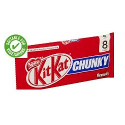 Nestle Kit Kat Chunky 8 Pack 320G