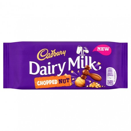 TCH468 CADBURY DAIRY MILK CHOPPED NUT 95G