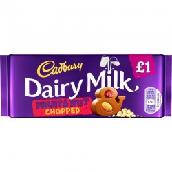 TCH522 CADBURY DAIRY MILK FRUIT & NUT 95G