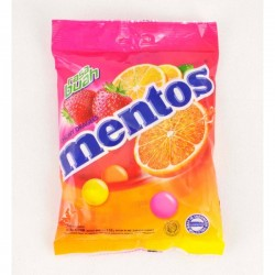 TCH526 MENTOS FRUITS BAG 135G