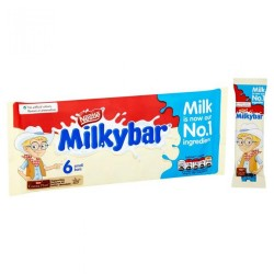 TCH545 NESTLE MILKYBAR SMALL MULTIPACK 6 pack 70G