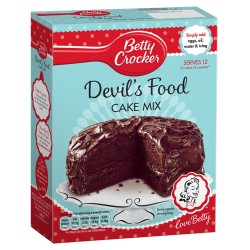 TCH565 BETTY C  DEVILS FOOD CAKE MIX 425G