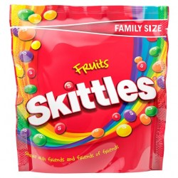 TCH570 SKITTLES FRUITS POUCH 196G