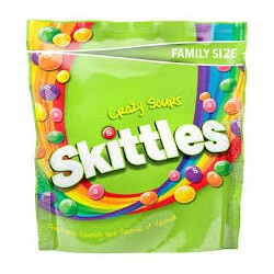 TCH571 SKITTLES SOURS POUCH 196G