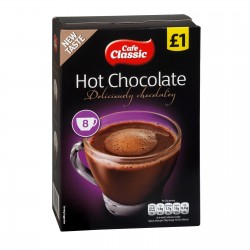 TCH635 CAFE CLASSIC HOT CHOC 8PK