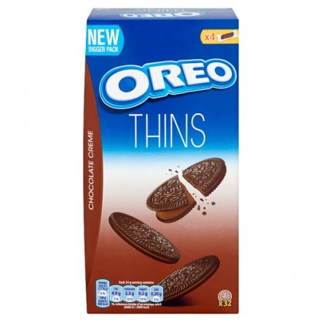 TCH639 OREO THINS CHOCOLATE 192G