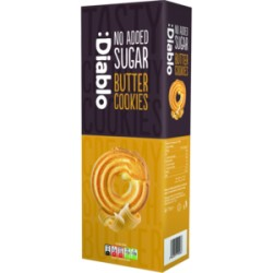 TCH643 DIABLO NO ADDED SUGAR BUTTER COOKIES 135G