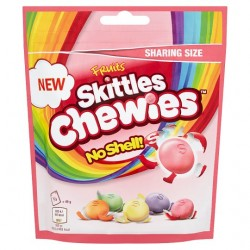 TCH657 SKITTLES FRUITS CHEWIES BAG 196G