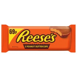 TCH658 REESES PEANUT BUTTER CUP 2PK 42 G