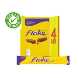 Cadbury Flake 4 Pack 102G