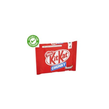 Kit Kat Chunky Milk Chocolate 4 Pack 160G