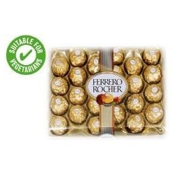 TCH003 Ferrero Rocher 24 Pieces Boxed Chocolates 300G